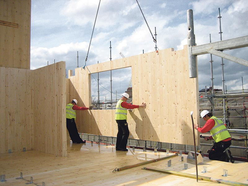 Wood High Rise Buildings Lat 233 Ral