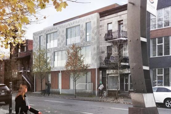 Condominiums Casa Verde, rue Clark, Montreal avec Knightsbridge. Leed Platine. Leed Platinum condominiums in Montreal with Knightsbridge.