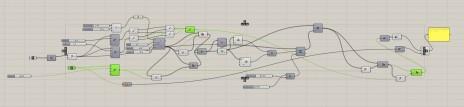 Conception paramétrique d'une structure. Parametric design of a structural system.